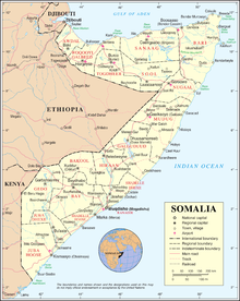 Outline of Somalia Wikipedia