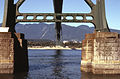 Under the Lions Gate Bridge facing North - panoramio.jpg