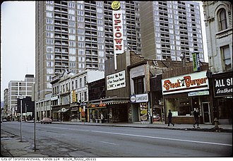 Uptown Theatre (Toronto) - The Uptown Theatre in 1968