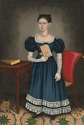 Erastus Salisbury Field: Portrait of a Girl