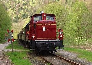 Dampfbahn Fränkische Schweiz - Image: V 60 114 b