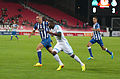 Valais Cup 2013 - OM-FC Porto 13-07-2013 - Maicon et Achille Anani.jpg
