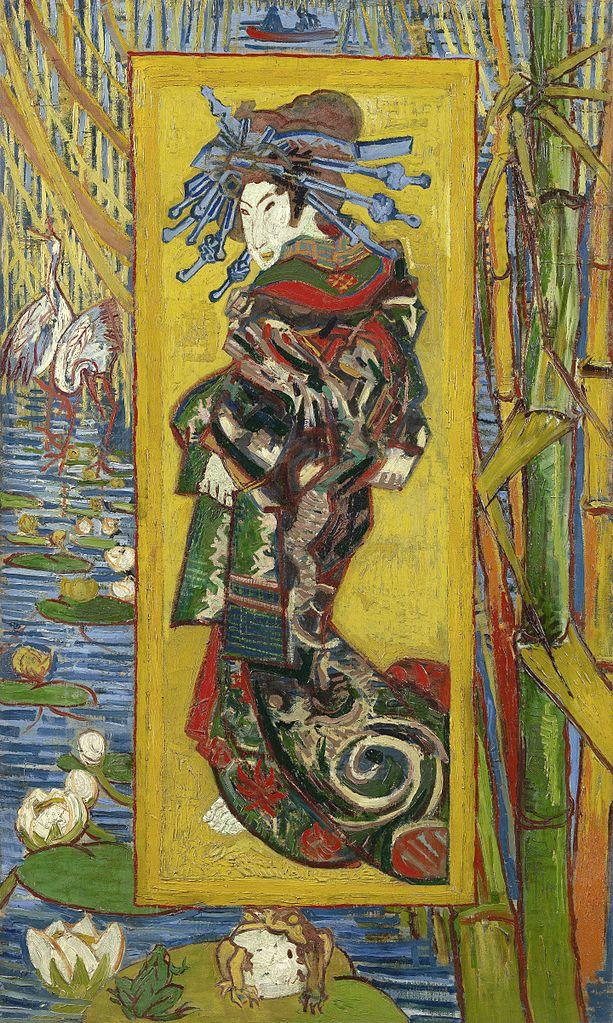 Что в «Автопортрете с отрезанным ухом» ван Гога делают гейши?