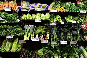 Food desert - Image: Vegetables Supermarket