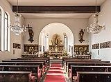 Velden Kirchenstraße 23 kath Pfarrkirche Unsere Liebe Frau Schiff und Apsis 31012018 2625.jpg