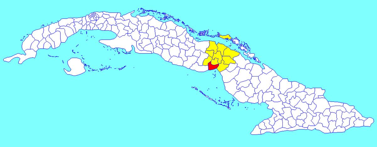 Venezuela Cuba Wikipedia - Where is cuba on a map