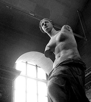 """So-called """"Venus de Milo"""" (Aphrodite from Melo..."""