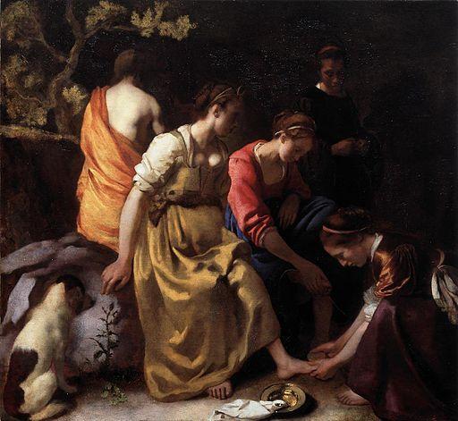 Vermeer - Diana en haar nimfen