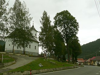 Vernár - Image: Vernar Catholic Church 40372