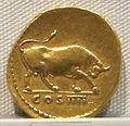 Vespasiano, aureo per tito cesare, 72-79 ca. 03.JPG