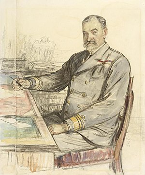 Admiralty War Staff - Image: Vice admiral Sir Henry Francis Oliver, Kcb, Mvo Art.IWMART1763
