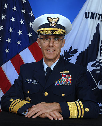 Peter V. Neffenger - Neffenger's photo portrait as the Vice Commandant of the United States Coast Guard