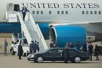 Vice president arrives at Kentucky Air Guard Base 07.jpg