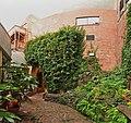 Victoria, BC - garden behind Paper Box Arcade pano 01 (20534142591).jpg