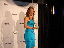 Victoria Banks at the CCMA Awards 2010.jpg