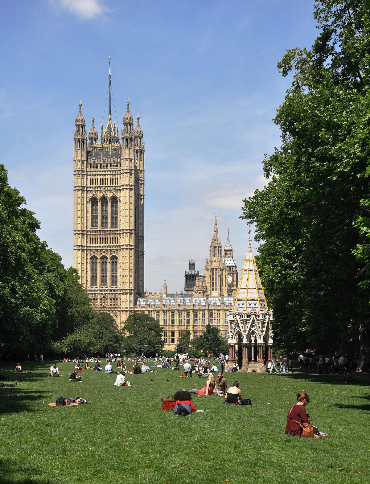 Victoria Tower Gardens Wikipedia