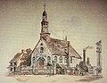 Vieux-Montréal, vers 1888. Chapelle Notre-Dame-de-Bonsecours, rue Saint-Paul. (6890073053).jpg
