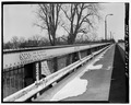 View east, north truss - Wabash River Bridge, Spanning Wabash River at U.S. Highway 40, Terre Haute, Vigo County, IN HAER IN-64-5.tif