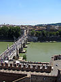 View from Castel Sant'Angelo 2 (15462736351).jpg