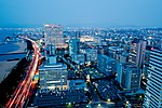 View from Fukuoka Tower at Blue Hour.jpg