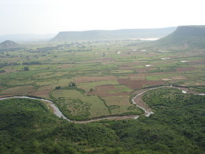 Maihar - View from Sharda temple Maihar