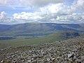 View northwest from Beinn a' Chlachair - geograph.org.uk - 1045493.jpg