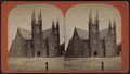View of a Church in Kingston, N.Y, by Lewis, Edward, fl. 1860-1880.png