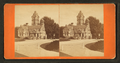 View of entrance to Spring Grove cemetery, from Robert N. Dennis collection of stereoscopic views.png