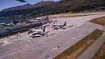 View of planes at Queenstown Airport from ZK-IDN 05.jpg