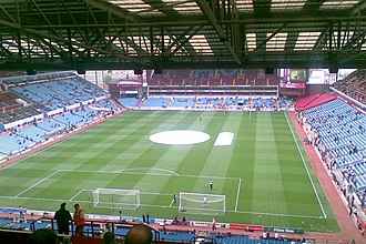 FA Trophy - Villa Park hosted the Trophy final from 2001 until 2005.