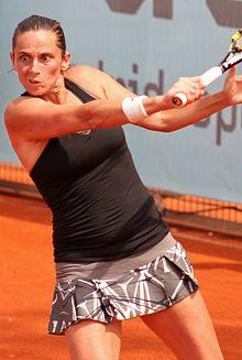 Roberta al torneo di Madrid 2014