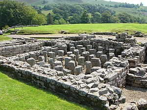 English: Vindolanda Roman fort