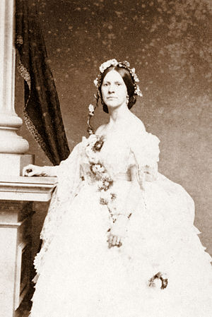 Virginia Clay-Clopton - Virginia Clay-Clopton, circa 1860s