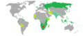 Visa requirements for Botswana citizens.png