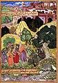 Vishvamitra führt Rama und Lakshmana zu seiner Einsiedelei 1594.jpg