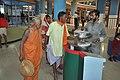 Visitors Interacting With Air Cannon - Science City - Kolkata 2011-01-28 0249.JPG