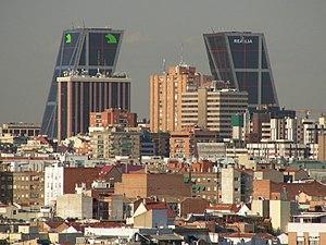 Tetuán (Madrid) - Image: Vista de Madrid Tetuán 01