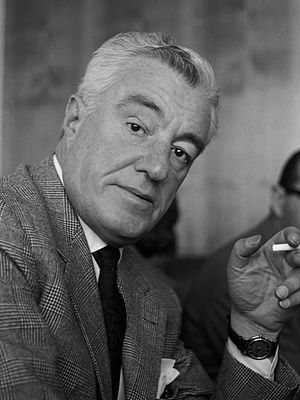 21st Berlin International Film Festival - Vittorio De Sica, winner of the Golden Bear at the event.