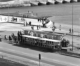 Volk's Electric Railway - Black Rock terminus in 1980