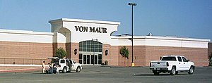 Von Maur - Exterior of the Von Maur at Valley West Mall in West Des Moines, Iowa