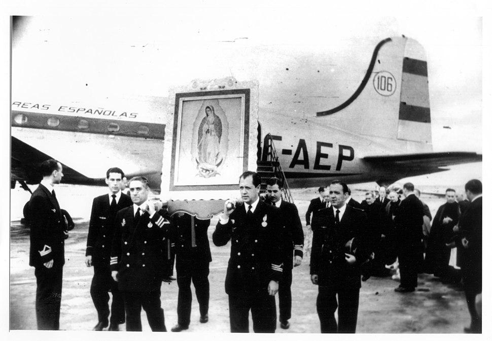 Vuelo inaugural Iberia Madrid - M%C3%A9xico (1950)