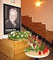 Vzpomínka na Vladimíra Čecha ve foyer Divadla ABC.jpg