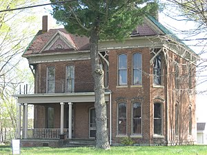 South Fulton, Tennessee - The W.W. Morris House, a historic site on State Line Road