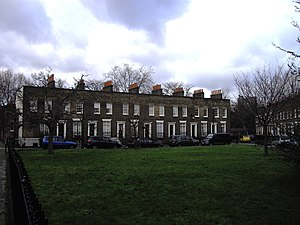 Kennington - Walcot Square was, like most of Kennington's 19th-century development, built in the gaps between main roads.