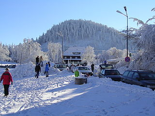 mountain range in Poland