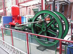 Bolton Steam Museum - A Walkers of Radcliffe Steam Fire Pump