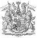Wappen von Sachsen-Gotha-Altenburg