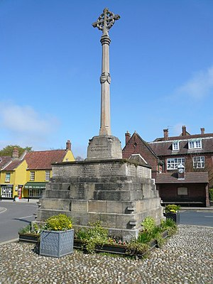 Holt, Norfolk - Image: War Memorial geograph.org.uk 1269172