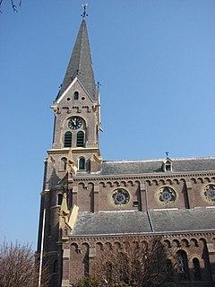 Warmenhuizen Town in North Holland, Netherlands