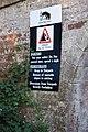 Warning Sign - Falling Rocks - geograph.org.uk - 564014.jpg